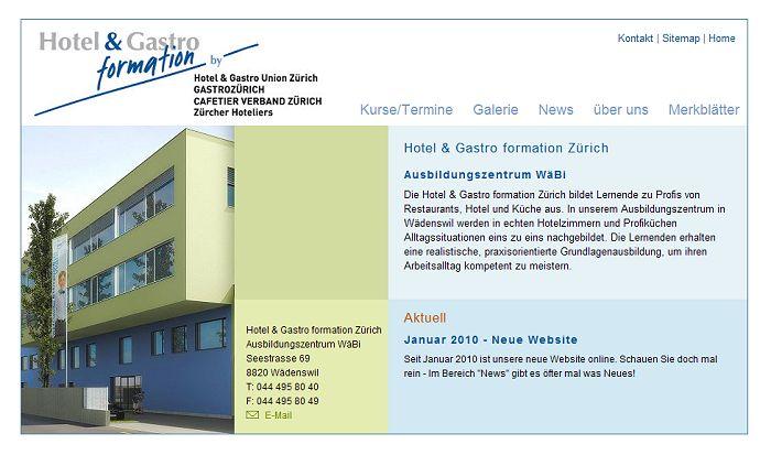 Bild - Hotel Gastro formation Zürich